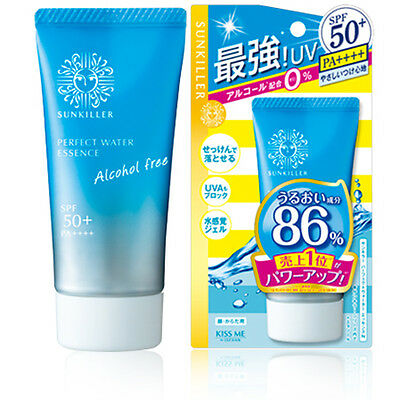 Isehan SUNKILLER Perfect Water Essence N Sunscreen SPF50+/PA++++ 50g Japan