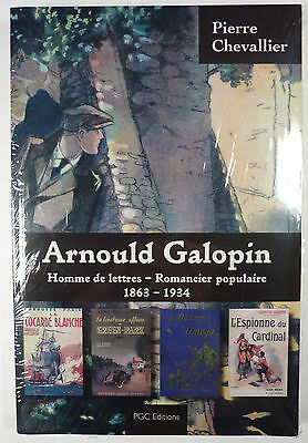 Galopin Arnould biographie Chevallier Pierre Ed. PGC Comme neuf