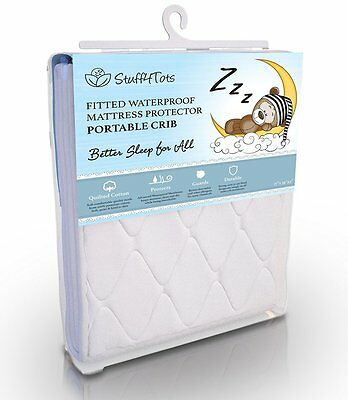 Playard Mattress Pad - Best Fit for Pack n Play and Mini & Portable Cribs - - -