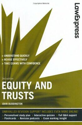 Law Express: Equity and Trusts (Revision Guide) by Duddington, John Paperback