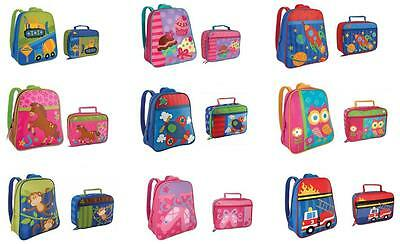 Stephen Joseph GOGO GO Backpack Lunch Box Set Kids Toddler School Preschool Bag