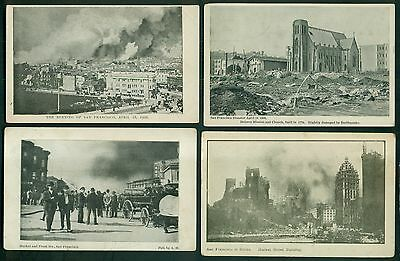 1906 San Francisco's Fire and Earthquake Postcards Collection