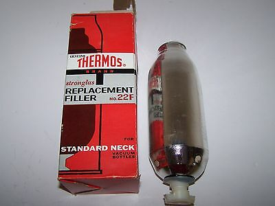 Vintage Genuine Thermos Brand Stronglas Replacement Filler No. 22F