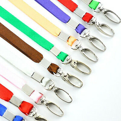 3x Neck Strap Lanyard Safety ID Badge Holder Metal Available Breakaway Phone