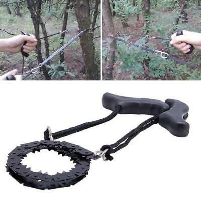 Survival Chain Saw ChainSaw Camping Emergency Garden Hand Tool Pocket Gear LG