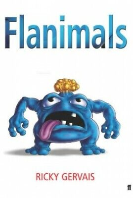 Flanimals, Ricky Gervais Hardback Book The Cheap Fast Free Post