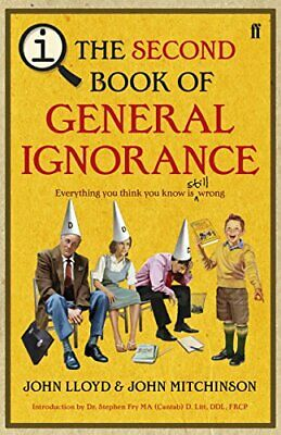 QI: The Second Book of General Ignorance by Mitchinson, John Hardback Book The