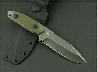 Combat Camping Knife Hunting Survival Fixed Blade Army Military Tactical Sharp
