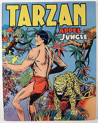 Tarzan L'appel de la jungle Ed. Del Duca 1956 TBE