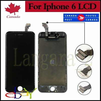 "Replacement Screen For iPhone 6 4.7"" LCD Touch Display Assembly Digitizer Black"
