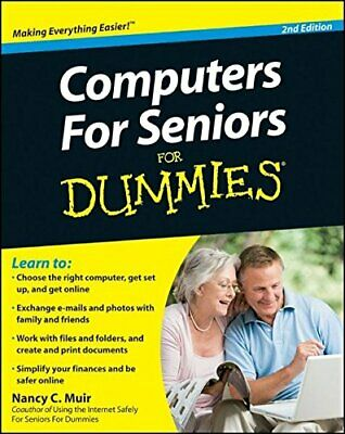 Computers for Seniors for Dummies (For Dummies (C... by Muir, Nancy C. Paperback
