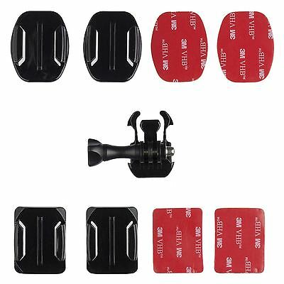 Kitvision 3M Adhesive Mount & Quick Release Set For Action Cameras - Black