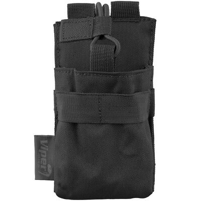 Viper Tactical Gps Molle Pocket Police Comm Security Webbing Radio Pouch Black