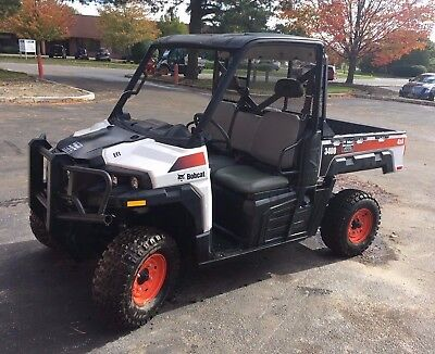 Bobcat 3400 Gas Utility Vehicle 4X4 Gator Roof And Window Dump Body