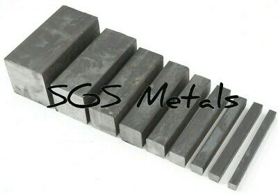Mild Steel SOLID SQUARE BAR Excellent range of sizes available from UK supplier