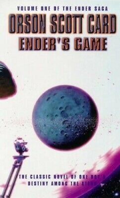 Ender's Game (Ender Saga) by Card, Orson Scott Paperback Book The Cheap Fast