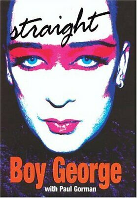 Straight by Boy George Hardback Book The Cheap Fast Free Post