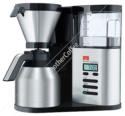 Melitta Aroma Elegance Deluxe Therm Filter Coffee Maker