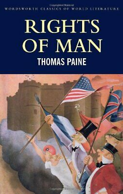 Rights of Man (Classics of World Literature) by Paine, Thomas Paperback Book The