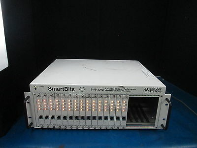 NetCom Systems SmartBits SMB-2000:Tester/Simulator/Analyzer W 15 L3-6710 Modules