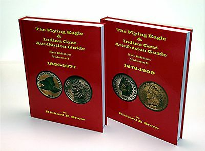 The Flying Eagle and Indian Cent Attribution Guide 3rd. Edition By Rick Snow daa