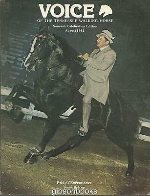 Voice of Tennessee Walking Horse Magazine August 1982 Souvenir Celebration Ed