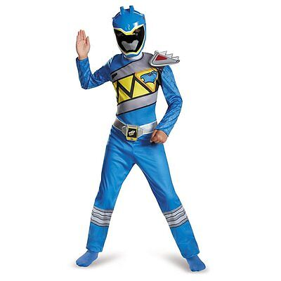 Power Rangers Blue Ranger Dino Charge Classic Boys Costume | Disguise 82760