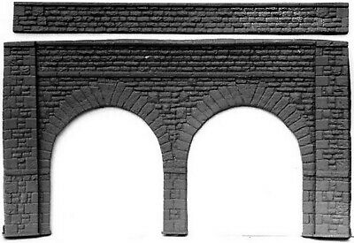 O Scale 1:43 Unpainted Model Kit Stone Viaduct 380mm x 214mm high L8