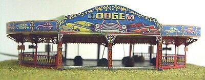 Funfair Dodgem Ride N Scale 1:148 UNPAINTED Kit NQ1