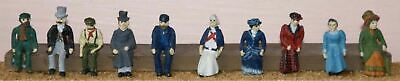 Langley Models Victorian Edwardian Seated figures OO Scale Model PAINTED F10p