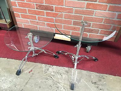 """Officially Licensed FENDER Stratocaster Adjustable End Tables"""" """"Watch Video"""""""