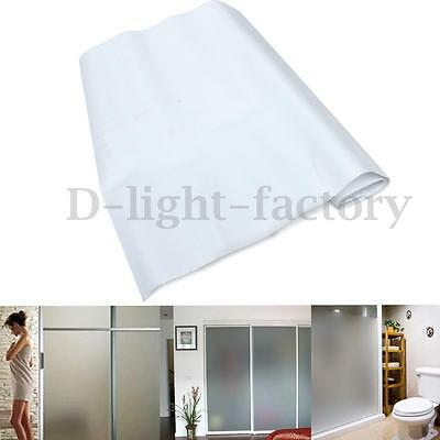 Waterproof Privacy Frosted Glass Film Sticker For House Bath Room Office Window