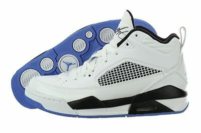 a8a33c6c36cdb8 654975-127 NIKE AIR Jordan Flight 9.5 (GS) White Legend Blue-Black ...
