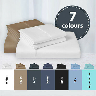 1000Tc Cvc Cotton Single/ks/double/queen/king Fitted Bed Sheet Set(No Flat Sheet