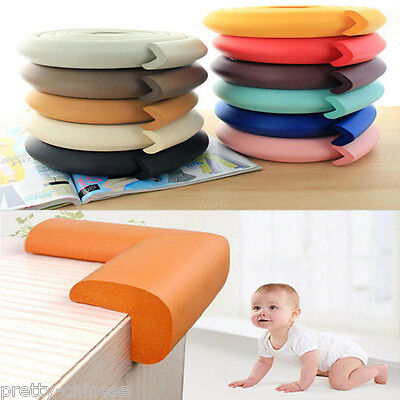 Baby Safety Proofing Glass Table Desk Edge Corner Cushion Guard Bumper Protecton