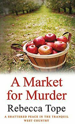 A Market For Murder by Rebecca Tope Paperback Book The Cheap Fast Free Post