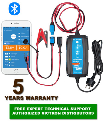 VICTRON BLUE Smart 12 VOLT IP65 BATTERY CHARGER 7/10/15A  CEE FREE EU Delivery
