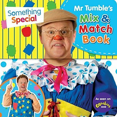 Mr Tumble's Mix and Match (Something Special) Book The Cheap Fast Free Post