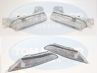 JDM Genuine Nissan Clear Front and Rear Bumper Lenses Lamps Lights GTR GT-R R35