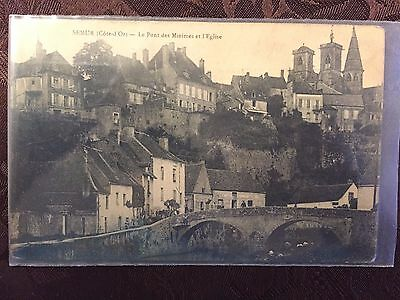 World War 1 postcard from 310th Inf. at Semur, France with 1918 Postmark