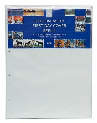 WHSmith CCR1 Collecting System First Day Cover Refills Double Sided Pack of 5