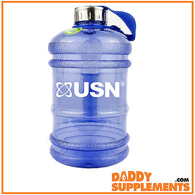 USN Water Bottle Drink Jug 2.2L BPA Free Sports Gym Training Outdoor Fintess