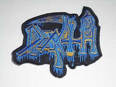 Death Death Metal Embroidered Patch