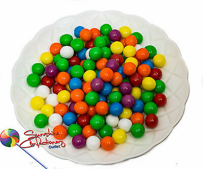 GUMBALL LOLLIES - 13MM - 1KG  -  Small Gumballs Post Included