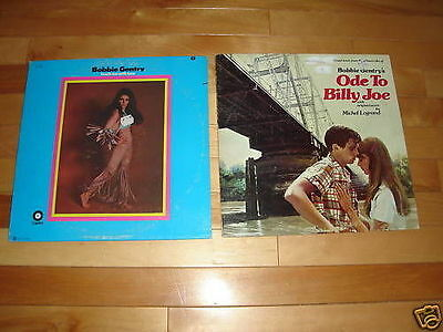 BOBBIE GENTRY 2 LP LOT COLLECTION Vinyl ODE TO BILLY JOE/TOUCH EM WITH LOVE