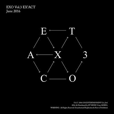 EXO - EX'ACT(3rd Album)CHINESE LUCKY ONE Ver CD+124p Photobooklet+Photocard