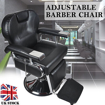 Adjustable Reclining Hydraulic Barber Salon Hair Cutting Shaving Tattoo Chair