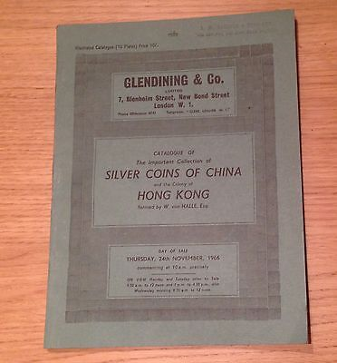 Lac Glendining Collection Of Silver Coins Of China And Hong Kong 1966
