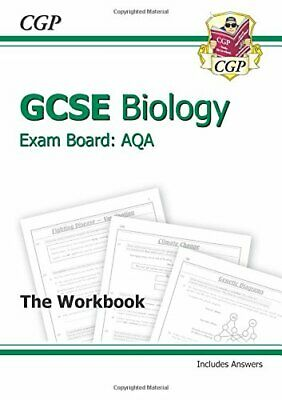 GCSE Biology AQA Workbook incl Answers - Higher (A*-G course) by Books, Cgp The