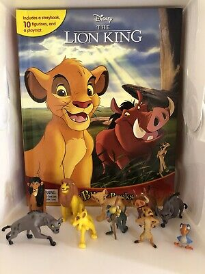 Disney Junior The Lion Guard Busy Book - 12 Figures And A Playmat Brand New